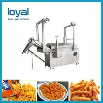 Single Screw Food Extruder For Fried Pellet Snacks Food