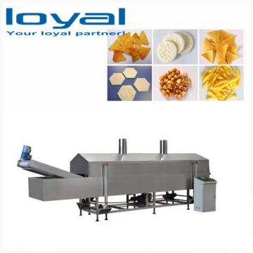 Baked Or Fried Potato Pellets Chips Machine Equipment