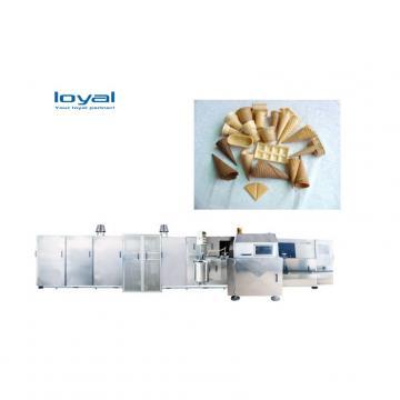 Automatic Ice Cream Waffle Maker Sugar Wafer Cones Baking Making Machine
