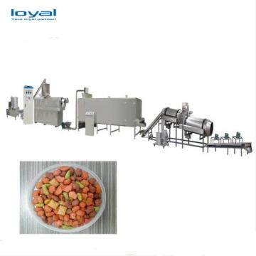 One Year Warranty Pet Food Production Line/Extruder Pet Food/Dry Dog Food Making Machine With Factory Price